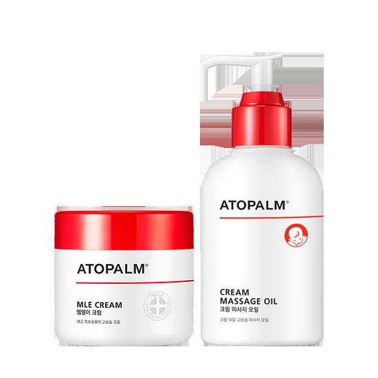 아토팜 MLE 크림(대용량)&크림 마사지 오일 세트