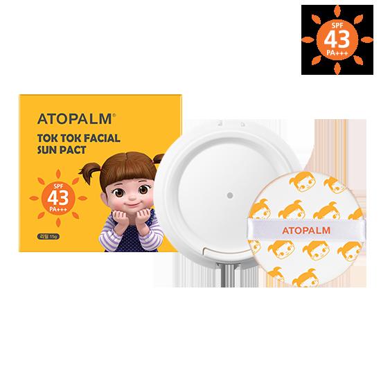 아토팜 톡톡 페이셜 선팩트 리필 (SPF43 PA+++)
