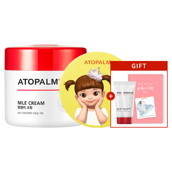 [한정판]아토팜 MLE 크림(대용량)& 톡톡 페이셜 선팩트