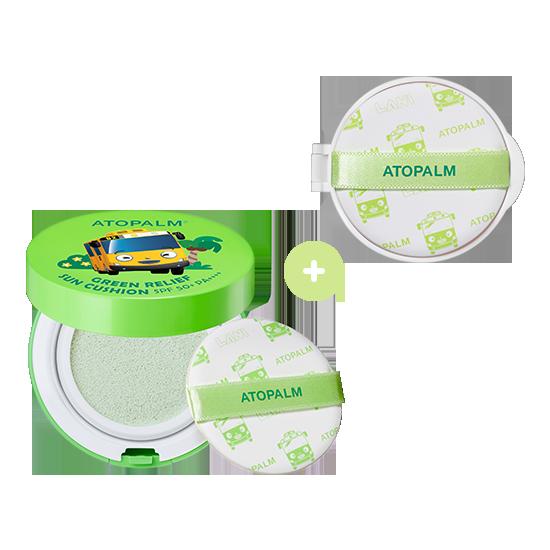 아토팜 그린 릴리프 선쿠션&리필 세트 (SPF50+ PA++++)