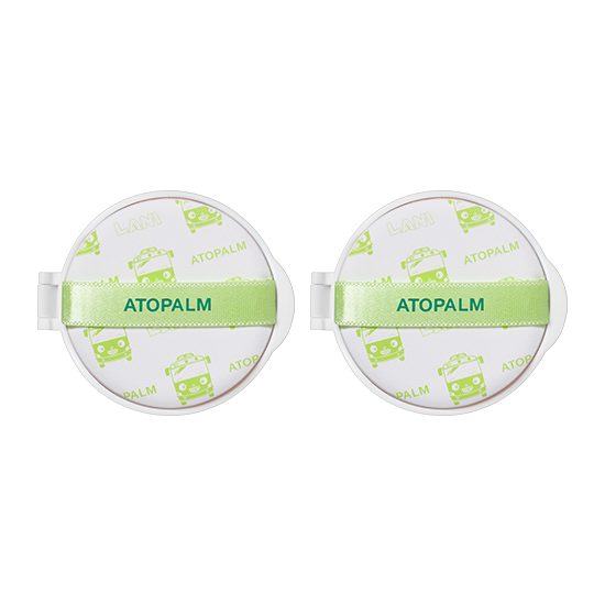 아토팜 그린 릴리프 선쿠션 리필 더블세트 (SPF50+ PA++++)