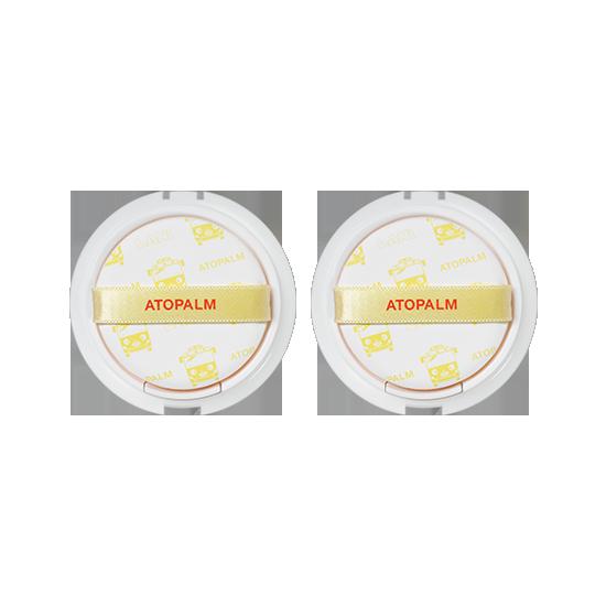 아토팜 톡톡 페이셜 선팩트 리필 더블세트 (SPF43 PA+++)