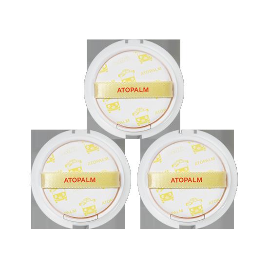 아토팜 톡톡 페이셜 선팩트 리필×3개 세트 (SPF43 PA+++)