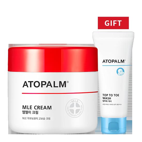 [브랜드세일] 아토팜 MLE 크림(대용량)+탑투토 워시 100ml 증정