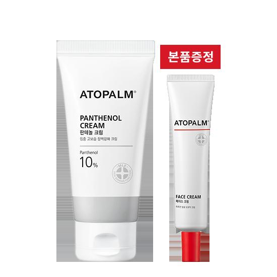 [브랜드세일] 아토팜 판테놀 크림+페이스 크림 본품 증정