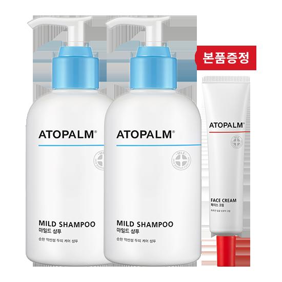 [브랜드세일][1+1] 아토팜 마일드 샴푸+페이스 크림 본품 증정
