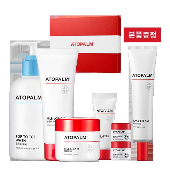 [브랜드세일] 아토팜 스페셜 케어 세트+페이스 크림 본품 증정