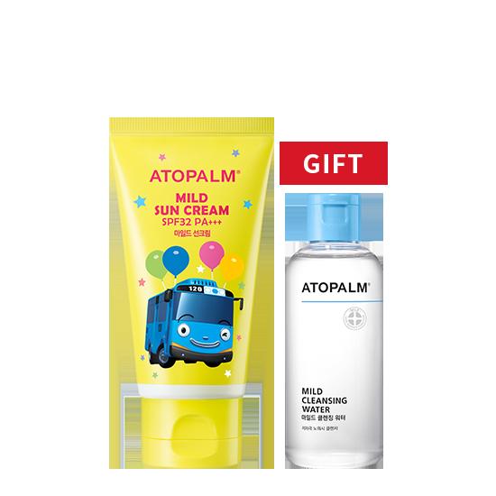 [브랜드세일] 아토팜 마일드 선크림 기획 (SPF32 PA+++)+클렌징 워터 100ml 증정
