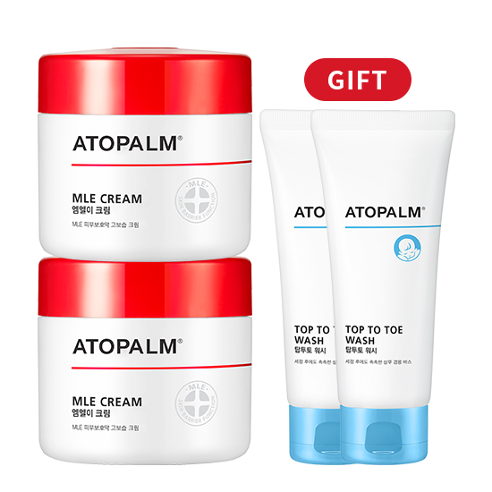 [브랜드세일][1+1] 아토팜 MLE 크림(대용량)+탑투토 워시 100mlx2 증정