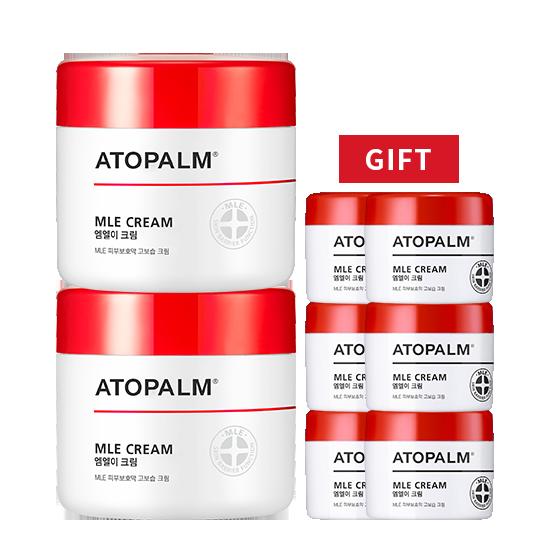[브랜드세일][1+1] 아토팜 MLE 크림(대용량)+MLE 크림 8mlx6 증정
