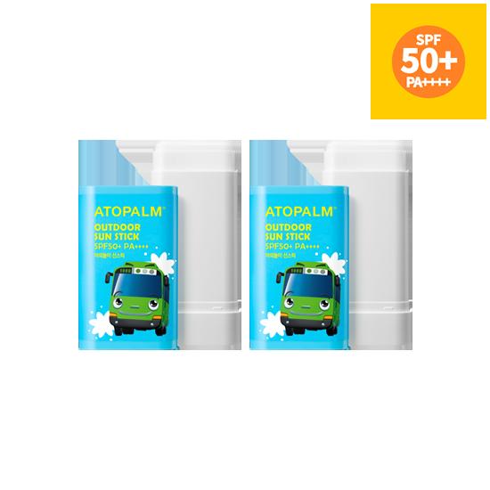 아토팜 야외놀이 선스틱 (SPF50+ PA++++) 더블세트