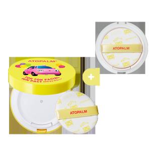 아토팜 톡톡 페이셜 선팩트&리필 세트 (SPF43 PA+++)