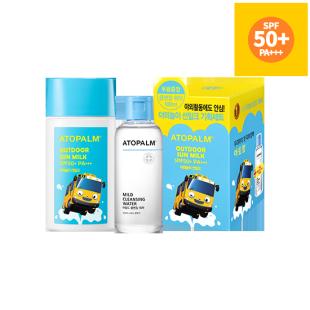 아토팜 야외놀이 선밀크 기획세트 (SPF50+ PA+++)